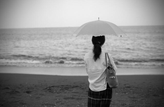 一人海に来てみた
