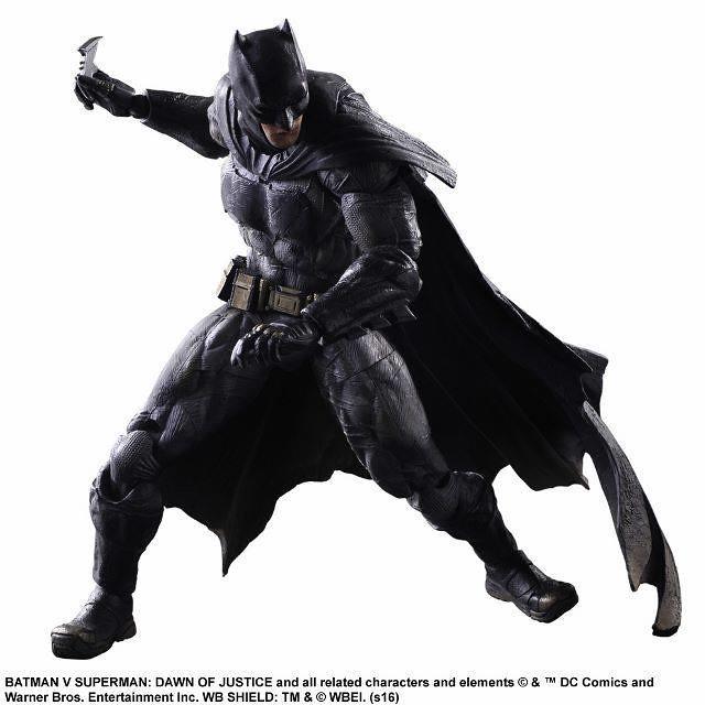 Play Arts 改【蝙蝠俠。Batman】蝙蝠俠對超人:正義曙光