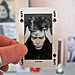 david bowie (nme playing card) by japanese forms