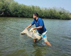 Aprendiendo de los nativos boquilleros a pescar