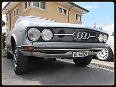 Audi 100 Coupé S, 1971