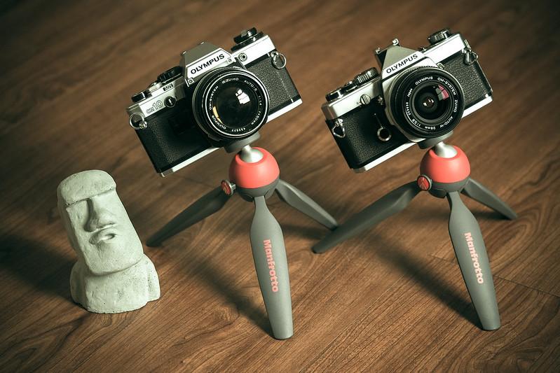 OM-1 & OM-10|Olympus Film camera