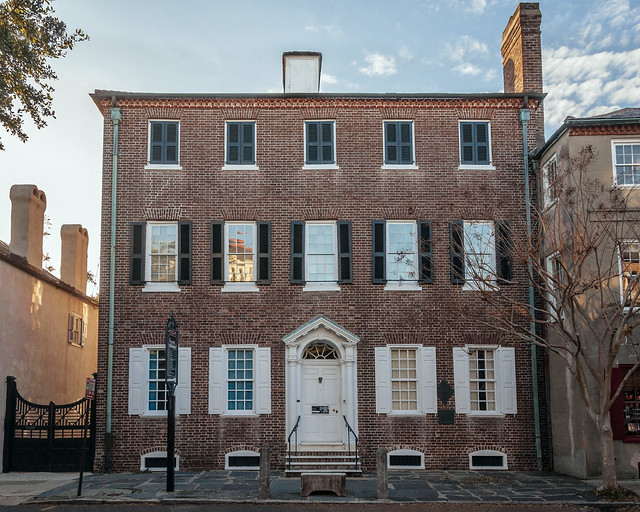 Heyward-Washington House (c. 1772), view01, 87 Church St, Charleston, SC, USA