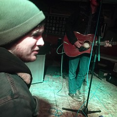 It was great seeing an old friend play at the VFW the other night.