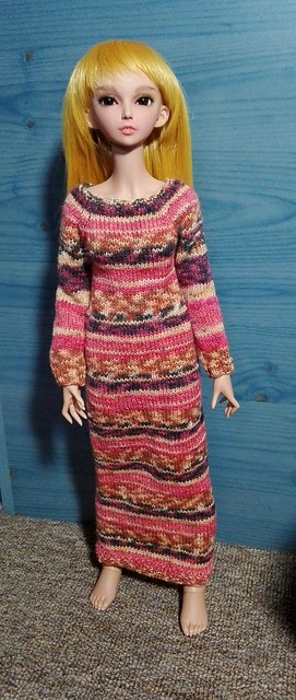Feeple knit dress