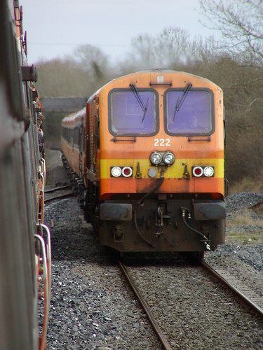 20040403_055: Passing 222 at Geashill