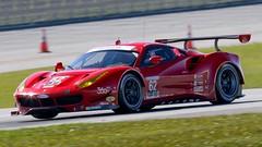 Risi Competizione Ferrari 488 GTE Rolex 24 at Daytona (practice)