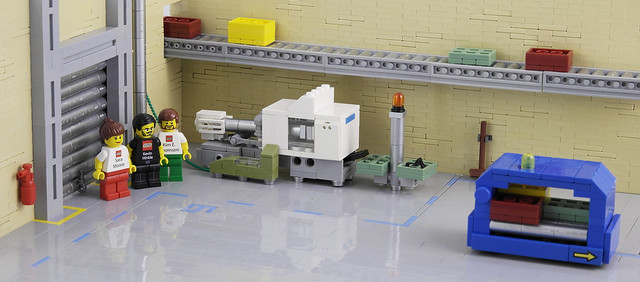 LEGO Factory Kornmarken in Billund