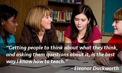 Eleanor Duckworth quote