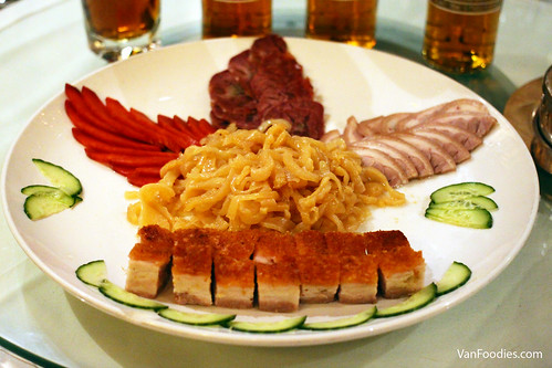 Kirin Special Platter with Roasted Pork