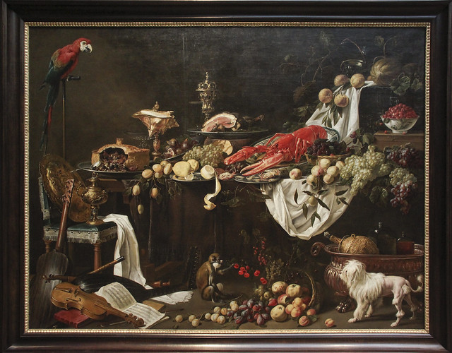 Banquet Still Life, Adraen van Utrecht, 1644