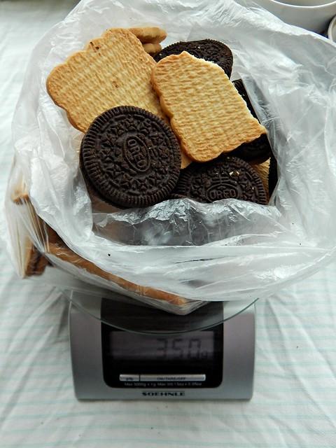 шоколадная колбаска из печенья по рецепту Юльетты | Хорошо.Громко.