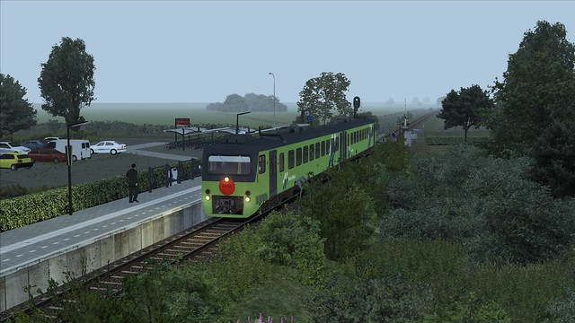 Train Simulator 2016 Koudum - Molkwerum wadloper Noordned