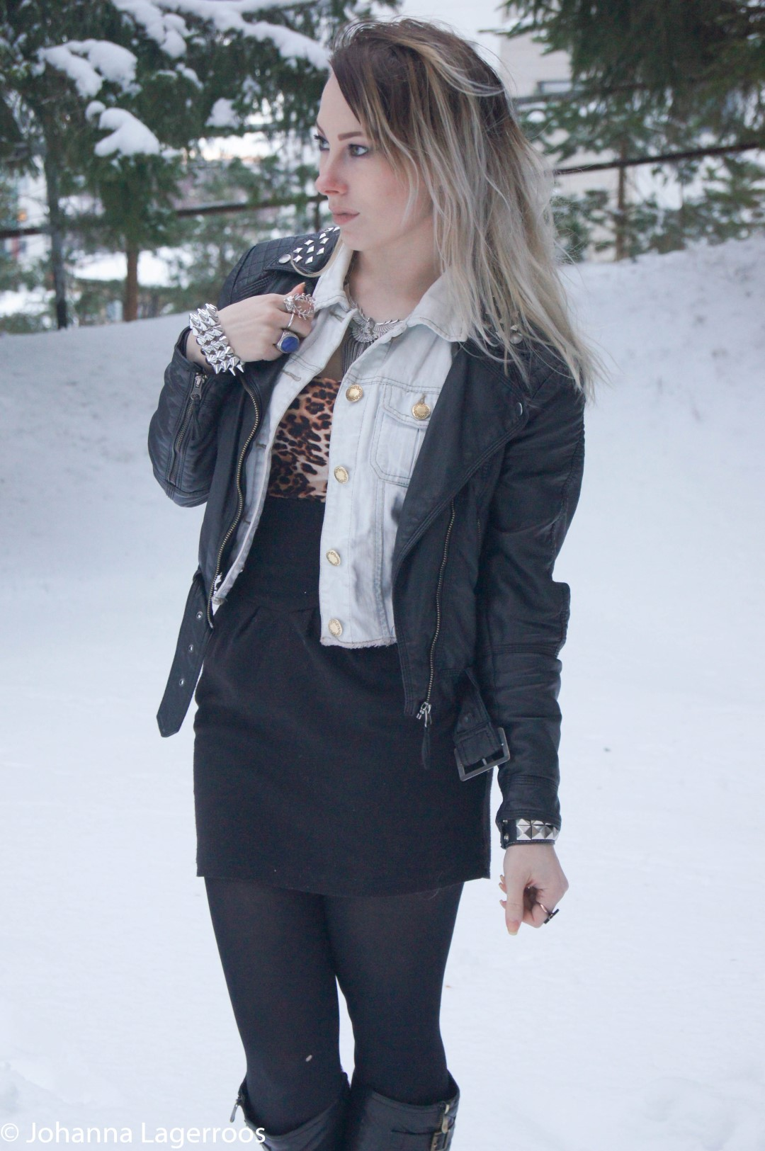 Layered rock outfit