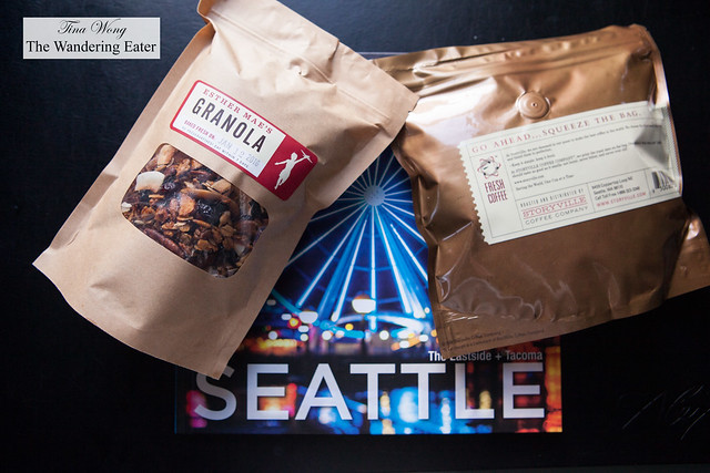 Storyville's granola and coffee beans