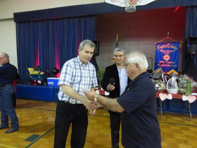 Check presentation to Fr. Robert (640x480)