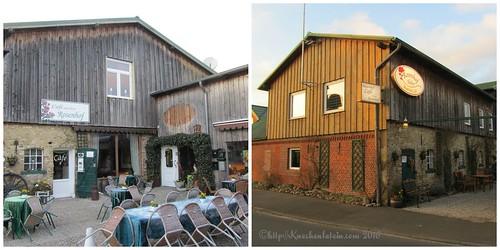 Bauernhof Café auf dem Rosenhof Hohn Collage