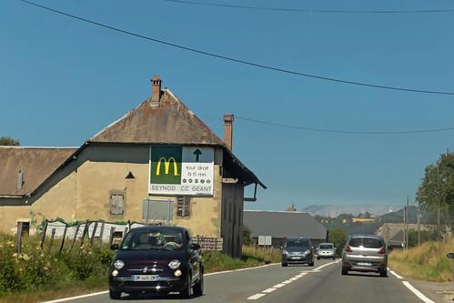 D1201 - Alby-sur-Chéran (France)