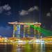 Marina Bay Sands Light Show by Huy Yo's Main Account   huy11b7@gmail.com