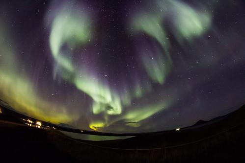Iceland Auroras chasing ...