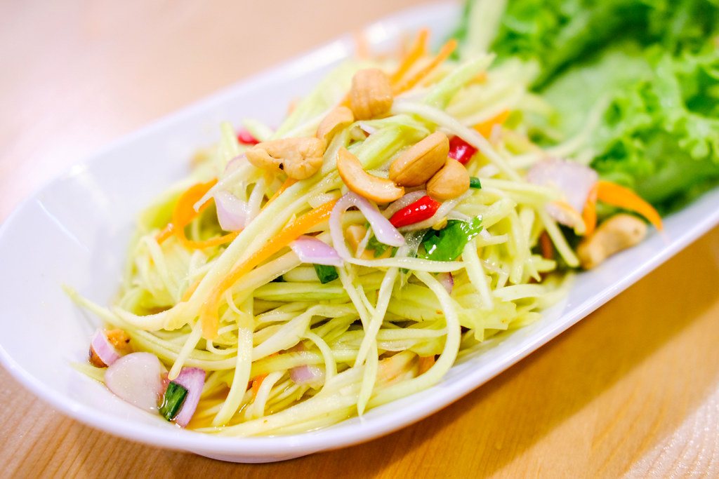 Nangfa Thai Kitchen's thai mango salad