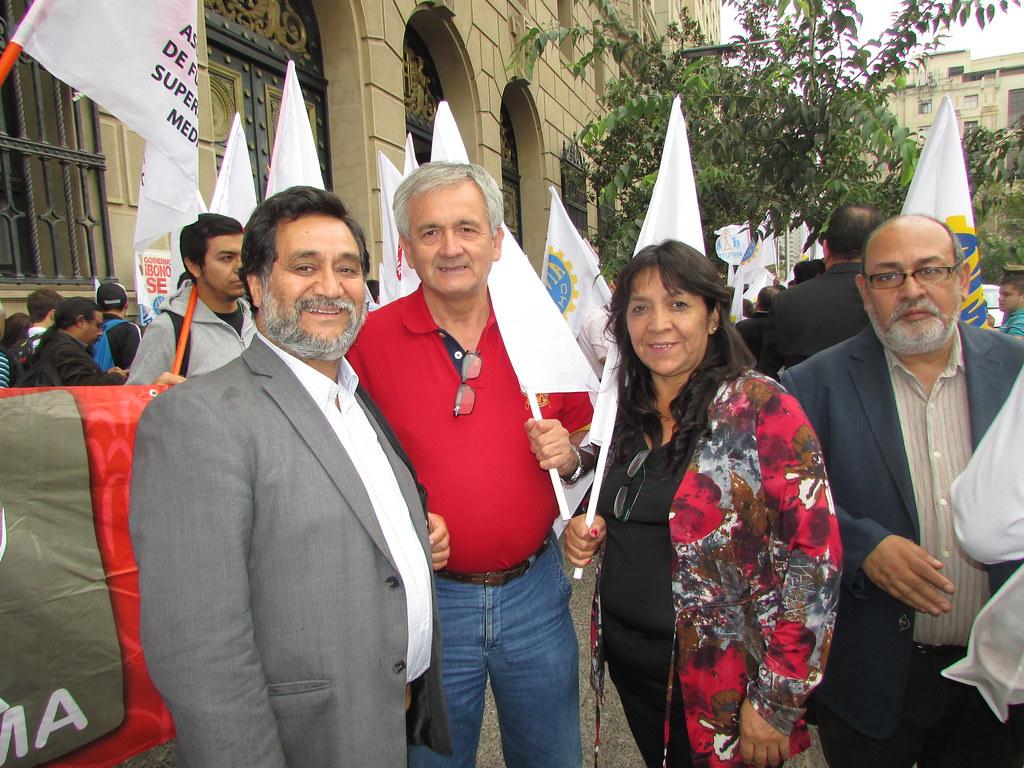 AFSAG presente en Paro Nacional ANEF por Atacama - 17 Marzo 2016