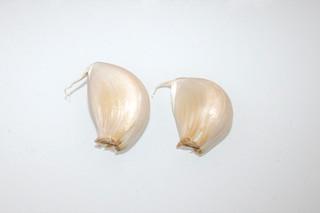 14 - Zutat Knoblauchzehen / Ingredient garlic