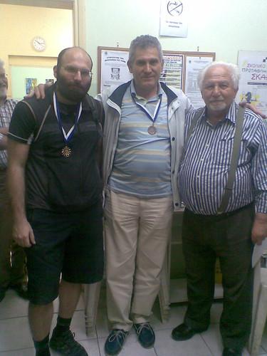 Προκόπης Φέσσας, Γιώργος Διαμάντης, Οδυσσέας Βαζελάκης
