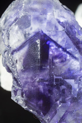 Quartz in Fluorite