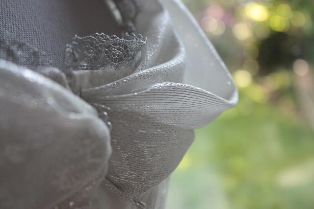 Robe de mariée paillettes et glamour