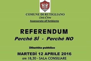 Referendum incontro rutigliano