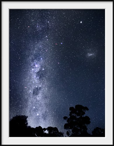 stars southerncross galaxy astrophotography astronomy nightsky crux lmc milkyway coalsack