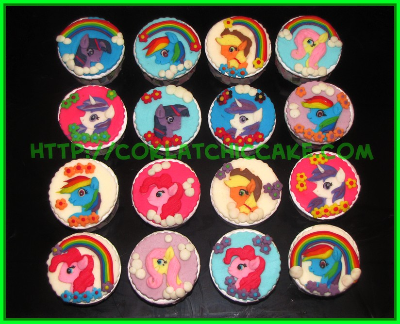 minicupcake my little pony