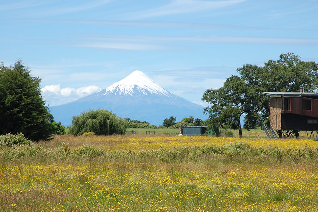 Views of Volcán Osorno in Los Lagos Region, Chile
