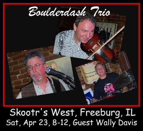 Boulderdash Trio 4-23-16