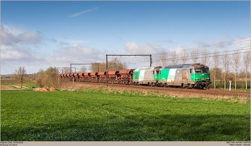 SNCF 467597 + 467544 @ Soignies