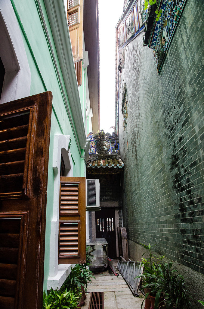 A valley in Pinang Peranakan Mansion