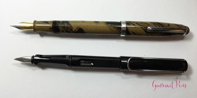 Review Gama Popular Fountain Pen - Flex @FPRevolution (9)