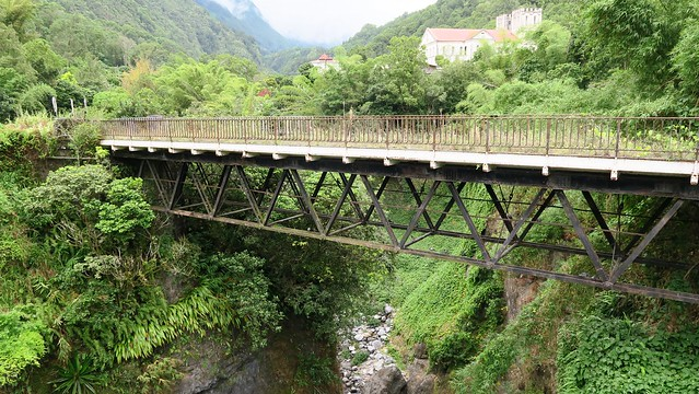 Old bridge in Salazie town