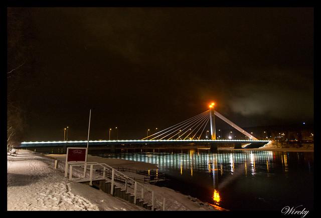 Laponia viaje Helsinki Rovaniemi - Puente Jätkänkynttilä