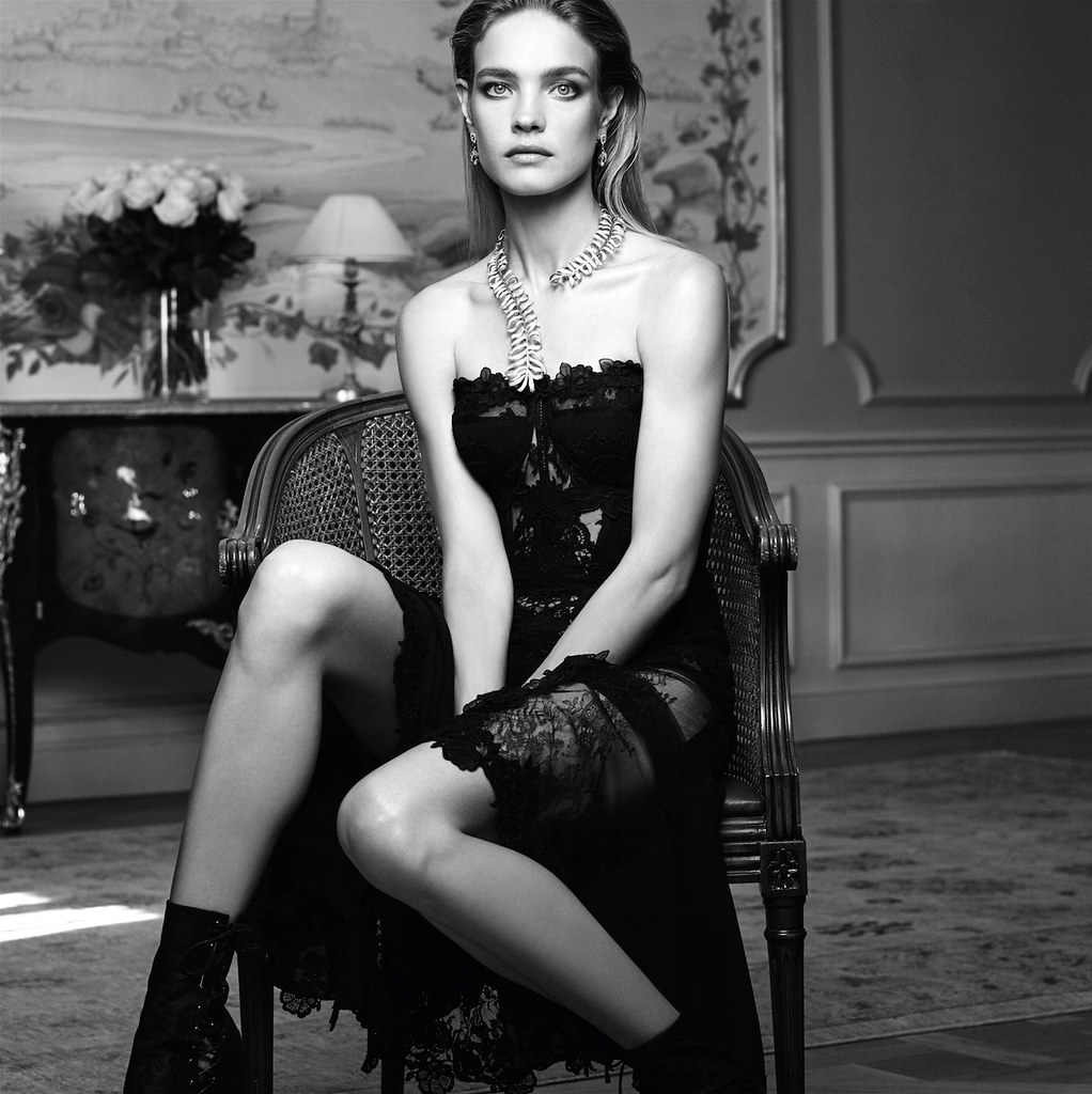 Наталья Водянова — Фотосессия для «Vogue» ES 2015 – 4