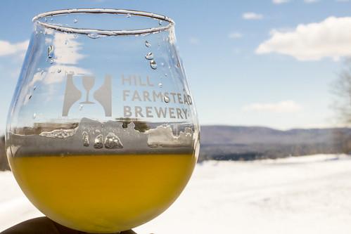 winter usa snow beer vermont hill brewery farmstead glassofbeer craftbeer hillfarmsteadbrewery hillfarmstead