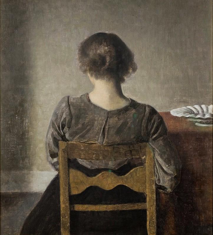 Wilhelm Hammershøi - Rest (1905)