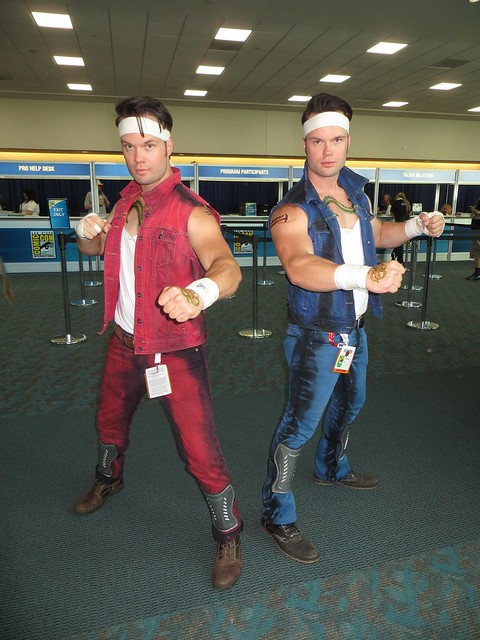 Billy and Jimmy Lee from Double Dragon