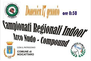 Noicattaro. Campionati regionali tiro con l'arco front