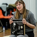 Hannah McPake in rehearsals for I Am Thomas, Copperfield Rehearsal Rooms