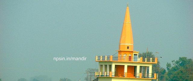 श्री शिव मंदिर (Shri Shiv Mandir) was thought of Shri Uday Veer Singh, a three story, 60+ feet of height temple which is visible from National Highway 2.