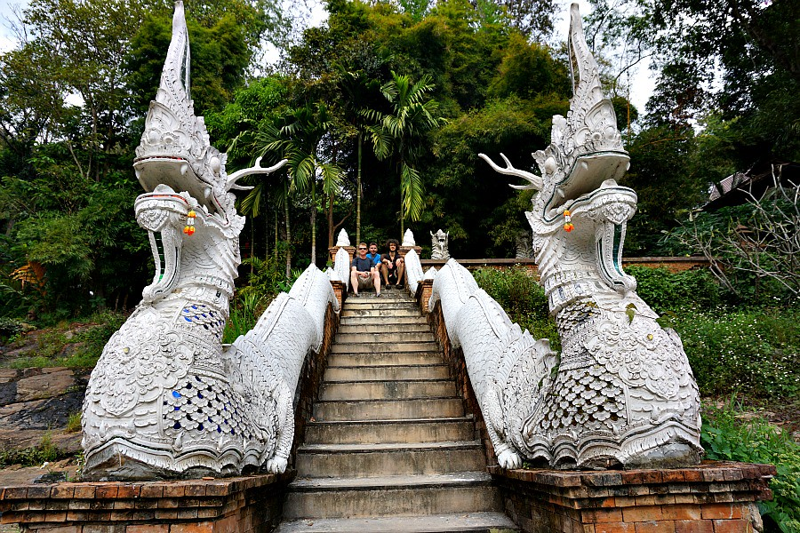 White Dragons in Chiang Mai