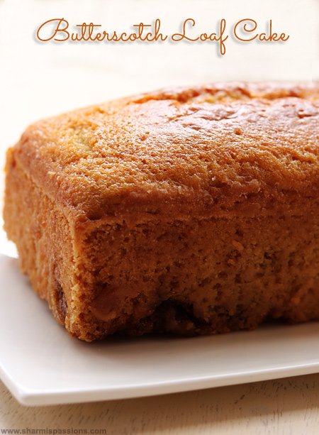Hot breads butterscotch cake recipe