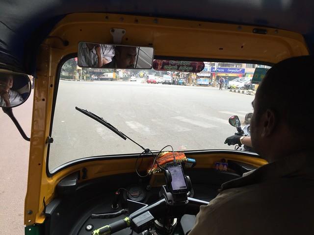 Ola rickshaw